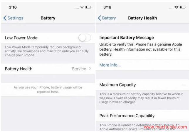 [IOS]IOS13非原装电池还能用吗?