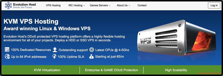 免费VPS推荐:Evolution Host