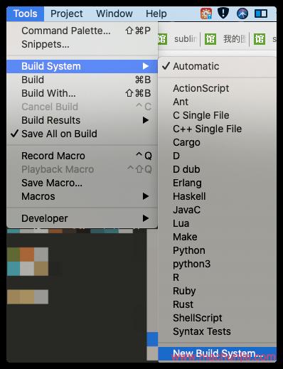 Sublime3 安装插件以支持Python并自动补全