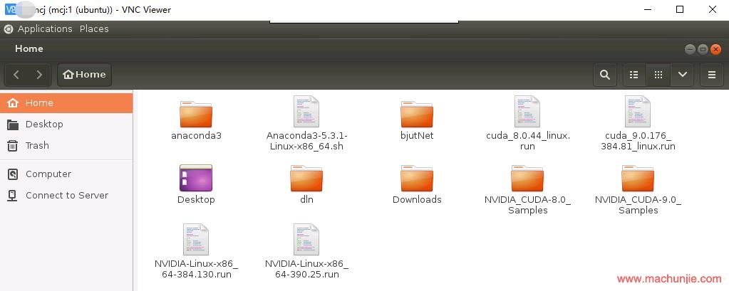 [mcj]Ubuntu中Xvnc4打开之后左上角Application消失|终端无法打开